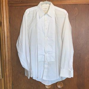 Bill Blass EveningWear tuxedo shirt